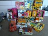 Assorted boxes (tiquesncollectibles) Tags: marx mego gijoe sixmilliondollarman