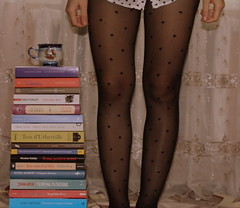 You're the kind of girl people read books about ( ) Tags: books reading booked bookaholic passion literature girl moldova autumn mood dots collant spread love random