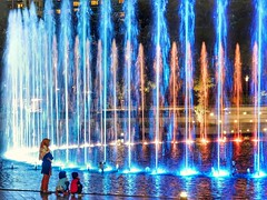 Fascination (kriswoods2322) Tags: water fountain colours musical symphony serialklcc lake kualalumpur asia park malaysia klccpark show petronastowers afterdark lightshow lakesymphony dramatic family