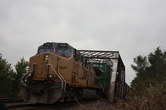 54781 (richiekennedy56) Tags: kansas leavenworthcountyks linwood unionpacific railphotos ac44cw up7290 unitedstates usa