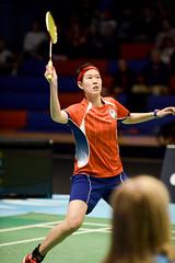 NBLmatch-5100-0556 (University of Derby) Tags: 5100 badminton nbl sportscentre universityofderby match