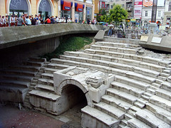 Plovdiv, Bulgaria - Roman Stadium of Trimontium (johnnysenough) Tags: 62 plovdiv  romanstadiumoftrimontium romanstadium dzhumayasquare bulgaria blgarija bulgarie bulgarien centraleurope travel vacation 100citiesx1trip snv37559