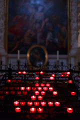 NY5A5241 (Poorfish) Tags: bayern germany mnchen   theatinerkirche church candle