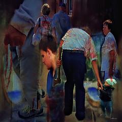 "Ignorance kills. Surrealism. Series"" Hidden Pain"" (Nellie Vin) Tags: child man men woman blood surrealism nellievinphotography color hands ignorancekills abuse"