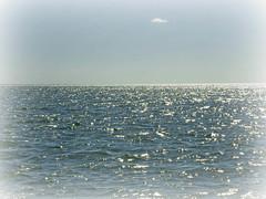 One Lonely Cloud (soniaadammurray - OFF) Tags: digitalphotography cloud sea sky ripples water nature tonelesstuesdays