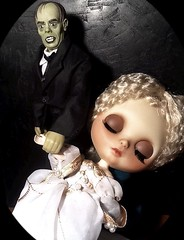 Blythe-a-Day October#19: Classic Monster Movies: Mary Maine Madison & Phantom of the Opera