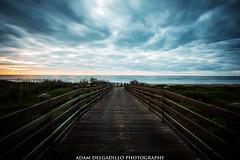 cinnamon shores final (oadam7) Tags: sunrise beach gulf portaransas porta corpuschristi texas cloudy water boardwalk