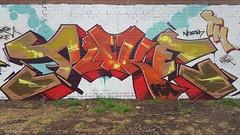 Puke... (colourourcity) Tags: streetartaustralia streetart graffiti melbourne burncity awesome colourourcity nofilters bunsen burner alphabetmonsters letters puke pkew mia tm