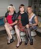 Three Classy Ladies! (kaceycd) Tags: crossdress tg tgirl lycra spandex minidress pantyhose pumps peeptoepumps opentoepumps highheels stilettoheels sexypumps stilettos s