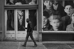Ellis Island and the iPhone (Tom Kavana) Tags: bw blackandwhite bwnyc iphone thevilliage nyc social monochomatic peoplebw