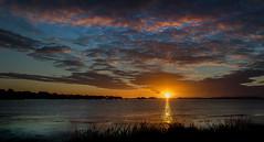 Stanpit Sunrise (Ken Came) Tags: sunrise stanpit dorset christchurch harbour water clouds kencame nikon d7000 october omot