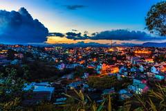 Da Lat Sunset (minhty0602) Tags: dalat dalatcity dalatvietnam dalatlamdong vietnamhighland yellowsunset citytwilight twilightlandscape sunsetlandscape dusk pentax pentaxk3 pentaxdslr pentaxcamera sigma sigmalens sigma1750