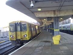 New Brighton (mostlybytrain) Tags: emu train liverpool mersey merseyside