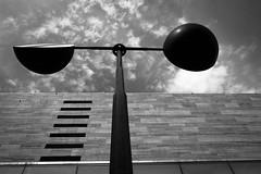 Yin and Yang (Kostas Katsouris) Tags: people bw black white photography athens greece fuji xt10 street urban light sky lines