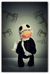 Titi Skeleton (Les PouPZ) Tags: amigurumidolls crochetdolls lespoupzdolls naturalfiberdolls handmadedolls