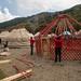 Competição de montagem de yurts
