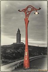 torre de Hercules (mercedescasal) Tags: torre tower coruña galicia faro ligthouse monumento monument