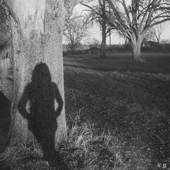 Shadow Woman (willdmo) Tags: carlzeissbiotar40mmf2 december dominiksamol efke50 iloveu4com robot2 singlechallanges stuttgart expiredfilm people streetart