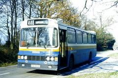 Slide 084-89 (Steve Guess) Tags: walliswood horsham england gb uk bus tillingbourne dennis dorchester wadham stringer vanguard fod943y surrey