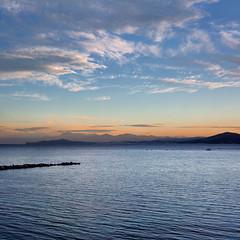Playa de la Ribera (kdtravolta) Tags: ribera beach playa sunset ceuta