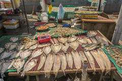 fish (stevefge) Tags: jinshanwei china fish market stall dry drying street reflectyourworld