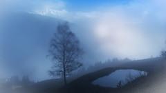 herbst nebel (maka3110) Tags: todaysbest nebel herbst see siluette schnee mystisch nikon nikond7100 sigma1770 tirol sterreich ladis austria bergsee explorer