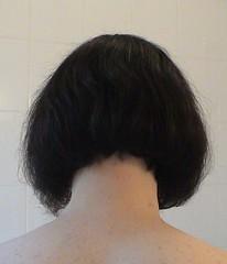 after back (boblinehair) Tags: nape shavednape undercut bob