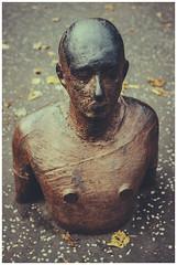 Gormley - National Gallery of Modern Art-3 (Gordon_Farquhar) Tags: antony gormley sculpture man rust sad melancholy national gallery modern art edinburgh scottish