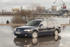 pass3 (AFinks) Tags: vag vw volkswagen passat b55 b5plus tdi car estate variant touring blue port river cars worldcars diesel dieselpower