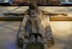 my King (pan-ga) Tags: krzyż jezus chrystus król krucyfiks cross jesus christ rex king faith christian chrześcijaństwo wiara rzeźba sculpture