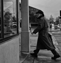 (daveson47) Tags: mono bw candid reflection street streetphoto streetphotography ricoh ricohgrd grd minneapolis