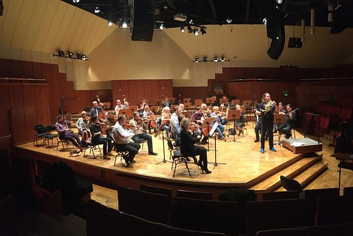 #Rehearsal #Mozart #Hornconcert No. 2 for 2.12.2016 #DariuszMikulski #Conductor & #Soloist #FilharmoniaDolnoslaska #JeleniaGora #Hirschberg #NiederschlesischePhilharmonie