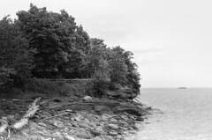 Presque Isle (J&E Adventures) Tags: landscape uppermichigan marquette nature exploring harbor up michigancoast 35mm film michigan summer coastline blackandwhitephotography bw ishootfilm puremichigan filmphotography canona1 canon presqueisle blackandwhite upperpeninsula lakesuperior