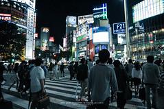 Shibuya Cross (Pop_narute) Tags: shibuyacross street road cross walk night people shibuya tokyo japan city life