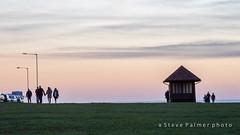 The end of the walk (Outdoorjive) Tags: other hunstanton sunsetsunrise flikr winter desktop office places uk eastanglia norfolk