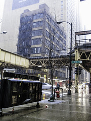 Street walk session December 4-2016 pic21 (Artemortifica) Tags: cta canon chicago december jackson michiganave powershot sd750 statest street alley bikes buses city cold compact snow subway trains umbrella underground urban weather il usa