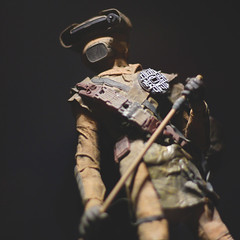 341 | 366 | V (Randomographer) Tags: project366 boushh figure princess leia organa star wars return jedi bounty hunter armor costume miniature 341 366 v fantasy scifi fictional character 50mm