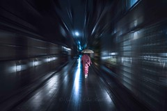 Believe me, she was fast! (Syahrel Azha Hashim) Tags: kansai gion street walking sony 2016 35mm gionstreet simple kyoto details a7ii umbrella local kimono ilce7m2 motionblur dof season oneperson handheld streetphotography colorimage vacation prime light culture people traditionalclothing colorful shallow beautiful travel syahrel getaway holiday colors sonya7 japanese raining japan detail