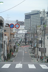 tokyo6086 (tanayan) Tags: urban town cityscape tokyo japan akabane nikon j1    road street alley slope