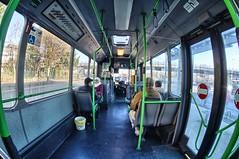 Im Bus  HDR (1ffischer) Tags: germany deutschland nrw nordrheinwestfalen 2016 fisheye bus vclecf1 street hdr