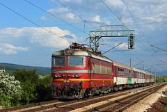 Vakarel (Krali Mirko) Tags: bdz electric skoda 68e6 45192 vakarel bulgaria transport railway