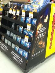 The Dark Knight Rises DVD aisle (splinky9000) Tags: pembroke ontario wal mart the dark knight rises dvd aisle batman catwoman finding nemo