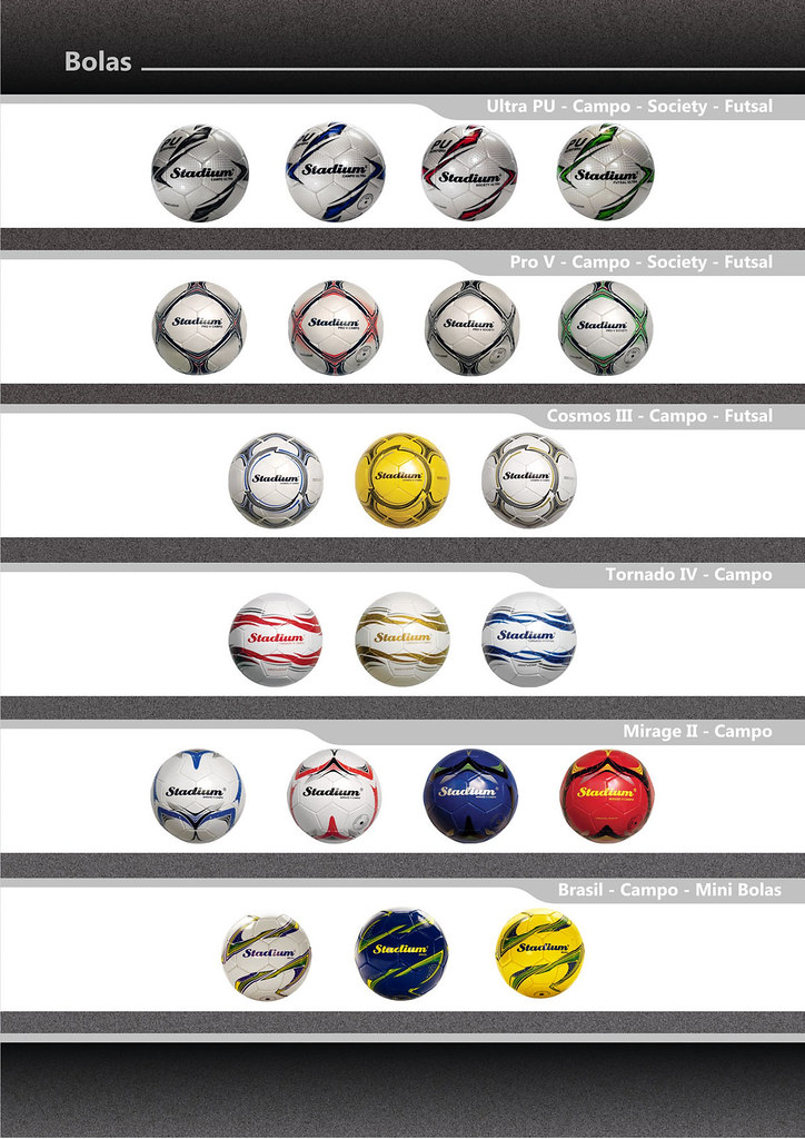 Catálogo Bolas 2013 FINAL 4 (Stadium Sports) Tags  stadium mirage bola  society oficial 737e1df5df993