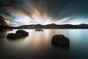 (djshoo) Tags: longexposure england mountains water clouds landscape evening lowlight colours dusk lakedistrict sunsets cumbria derwentwater keswick eveninglight sigma1020mm wideanglelens leefilters nikond90 leepolariser leebigstopper
