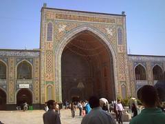 Large iwan on Imam Reza shrine (Germn Vogel) Tags: gate shrine asia iran muslim islam middleeast mosque mausoleum shia mashhad islamic iwan khorasan imamreza islamicrepublic westasia