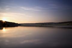 Coucher de soleil sur le Val Joly (Dave Vador) Tags: soleil day lac clear val soire coucherdesoleil joly valjoly