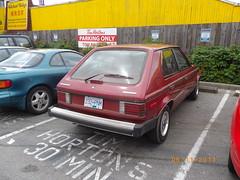 1988 Plymouth Horizon 1000 (Foden Alpha) Tags: horizon plymouth mapleridge 1000 232pnm