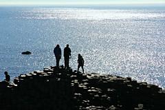 Natural hexagonal rocks. Giant's causeway, Northern Ireland (Daniel Kliza) Tags: bridge ireland rocks hexagonal belfast rope giants ni suspended northern causeway antrim carrickarede giant's