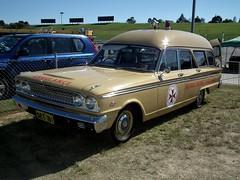 1963 Ford Fairlane 500 ambulance - Bourke District