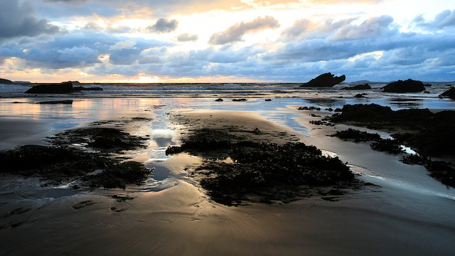 Broad Haven Sunset II